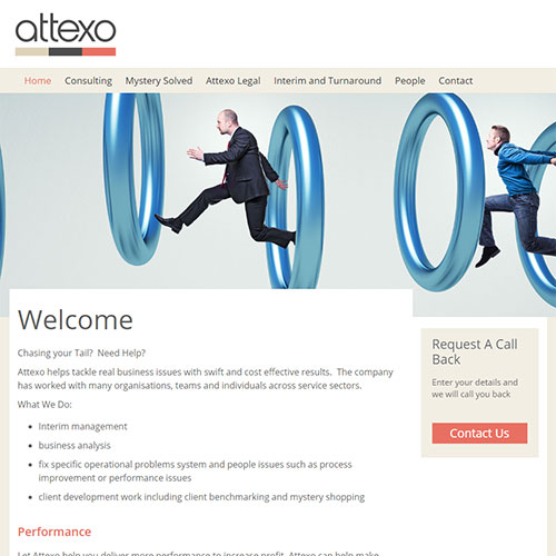 Screenshot of Attexo