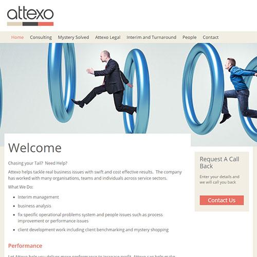 Screenshot of Attexo