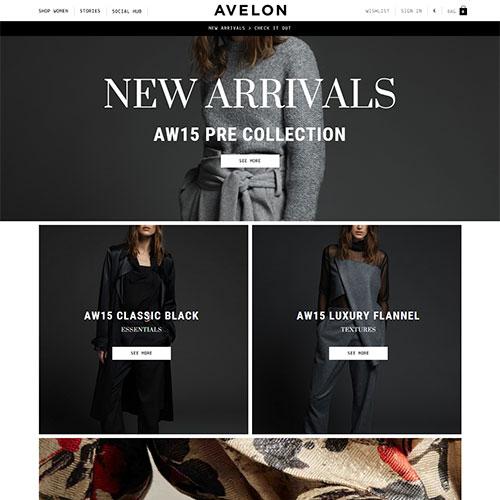 Screenshot of Avelon
