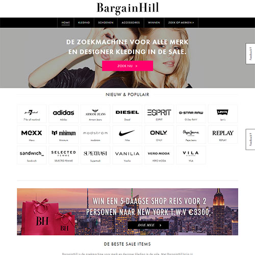 Screenshot of Bargain Hill