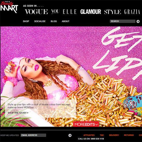 Screenshot of Beauty MART