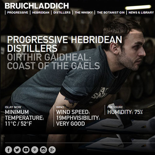 Screenshot of Bruichladdich