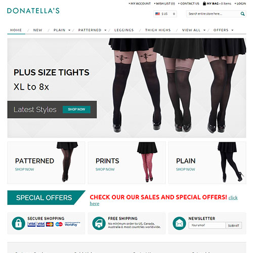 Screenshot of Donatella's