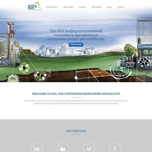 Screenshot of Ground Gas Solution