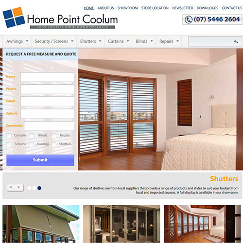 Screenshot of Home Point Coolum