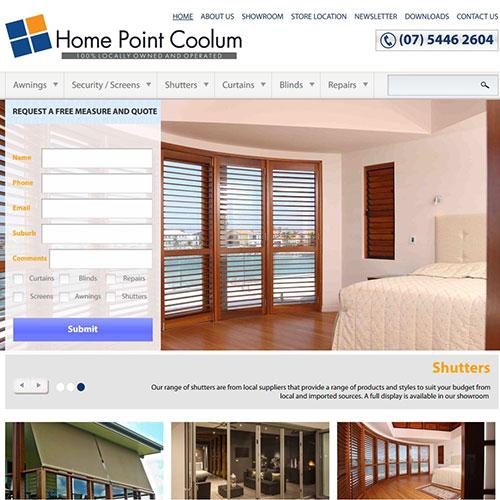 Screenshot of Home Point Coolum