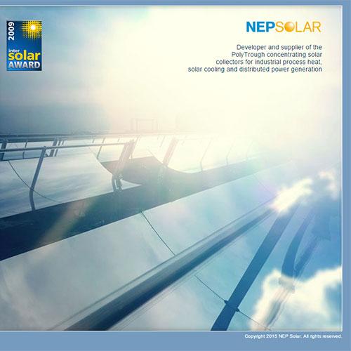 Screenshot of NEP SOLAR