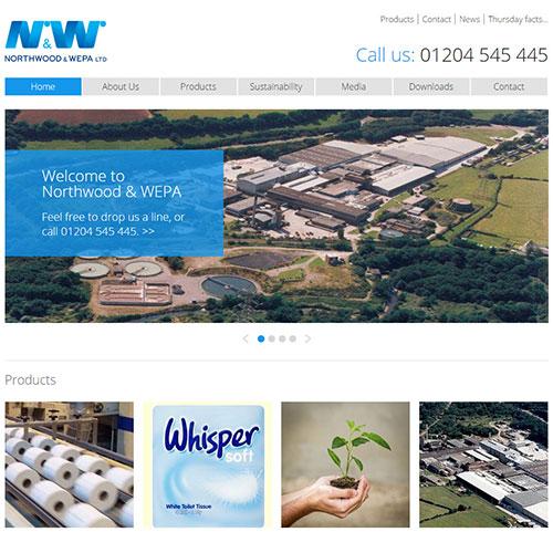 Screenshot of Northwood WEPA