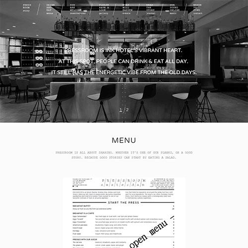 Screenshot of Pressroom