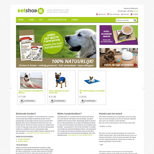 Screenshot of PetShop XL