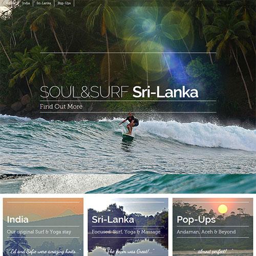 Screenshot of Soul and Surf
