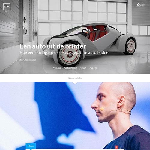 Screenshot of The Next Marketing