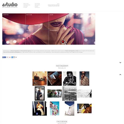 Screenshot of Araman Studio