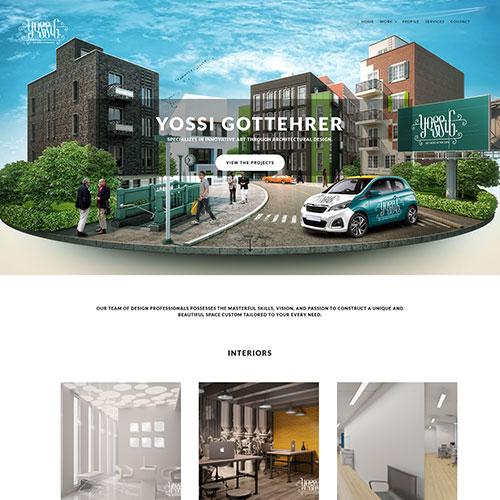 Screenshot of YossiG Interior Design